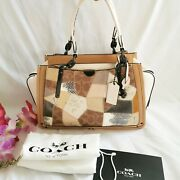 Nwt Coach Dreamer With Signature Patchwork 650