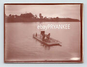 1904 Antique St Louis Missouri Unpublished Photo Ferry Boat W/ Horse And Carriage