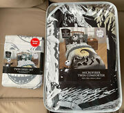 The Nightmare Before Christmas Twin Sheet Set And Matching Comforter New Soft