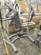 Precor Chest Press Commercial Plate-loaded Gym Exercise Machine