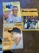 M. Mantle Yankees Sport Magazine 7/ 1962 Sonny Liston Al Kaline Early Wynnand More