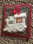 Lenox Holiday Train Cookie Press Ornament Porcelain New Package