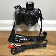 Canon Powershot Sx10 Is Digital Camera 10.0 Mp 20x Optical Zoom Pc1304 Tested