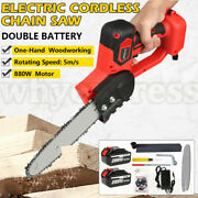 Mini One-hand Saw Woodworking Electric Chain Saw Wood Cutter Cordless 21v 880w