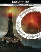 Lord Of The Rings The Motion Picture Trilogy New Dvd