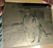 Vintage Antique Lot Box Of 12 Glass Plate Photograph Negatives M.a. Seed Co