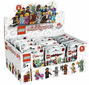 Lego New 8827 Series 6 Factory Sealed Box Of 60 Minifigures Figures Case