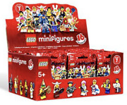 Lego New 8831 Series 7 Factory Sealed Box Of 60 Minifigures Figures Case