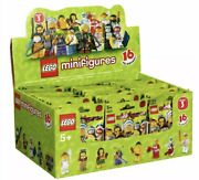 Lego New 8803 Series 3 Factory Sealed Box Of 60 Minifigures Figures Case