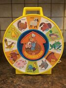 1974 Mattel See 'n Say The Farmer Says. No Sound. Sound Disc May Have Came Off