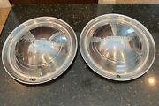 2 Vintage Antique 1949/50 Plymouth Fury Belvedere Satellite Hubcaps Wheel Covers