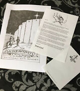 Banksy Alter - Nativity Print Art Un Signed Walled Off Hotel Mint Heart Photo