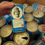 Vintage Soda Can Lot Of Rc Cola Cans 1970s 1980's Baseball Players About 70 +/-