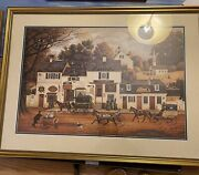 21 X 32 Signed And Numbered Print By Artist Charles Wysocki
