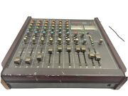 Vintage Analog Mixer Mixing Board Tascam 106 Tested Exc Effects Send Console Pro