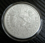 1 Oz Pieces Of Eight Bu Silver Round Golden State Mint In Capsule