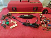Sears Best Craftsman Rotary Tool 5 Speed With Case And Accessories Usa