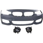 Bumper Covers Set Of 3 Front 51118060887, 63177315559, 63177315560 For Bmw 428i