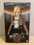 Medicom Toy Rah Real Action Heroes Attack On Titan Annie Leonhart Figure Limited