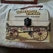 The Western Trail Conestoga Wagon Lunch Box 2 Available Price Is For 1