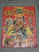 1988 Nm Ringling Bros And Barnum And Bailey Circus Program - Signed By 1 Clown
