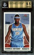 2003 04 Fleer Tradition Carmelo Anthony 263 Rc 9.5 9.5 10 9.5 Bgs 9.5