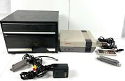 Nintendo Nes System W/ 26 Games New 72 Pin And 1980and039s Nintendo Storage Case