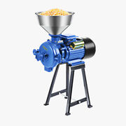 New 220v Electric Feed Grinder For Mill Wet Dry Cereals Rice Grain Coffee Wheat