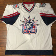 1999 New York Rangers Gretzky Starter Liberty Team Issue Pro Jersey Size 54-r