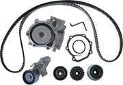 Engine Timing Belt Kit With Water Pump Fits 2003-2005 Subaru Forester