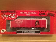 Ho Athearn Coca-cola 40andrsquo Steel Reefer Boxcar Cccx 2022 3 In A Series Of 6