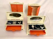 {vintage} Remco Heidi And Jan Armoire Wardrobe And Hope Chest Set 2x Each