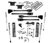 Sale 4 Superlift 4-link Fox Lift Kit K233f For 08-10 Ford F250 F350 4wd Diesel