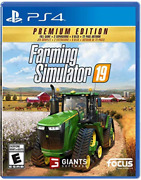 Ps4 Farming Simulator 19 P...-ps4 Farming Simulator 19 Premium Ed Game New