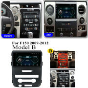 For 2009-2012 Ford F150 Stereo Radio Gps Navigation 9and039and039 Android 10.1 Player Wifi