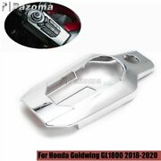 For Honda Gl1800 18-20 Tour Dct Airbag Center Console Switch Panel Cover Chrome