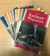 The Railway Magazine 10 Issues From 1953