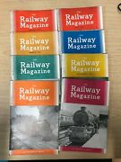 The Railway Magazine 8 Issues From 1954