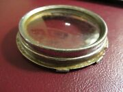 Vintage Original 1930and039s Reo 1935-36 Reo Pu Gauge Bezel And Lens