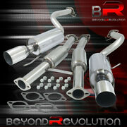 For 1990-1996 Nissan 300zx Z32 3.0l Stainless Steel Catback Exhaust 2.35 Piping