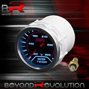 For A3 A4 A5 A6 A7 Racing Water Temperature Gauge 100-300 Fahrenheit Led Display