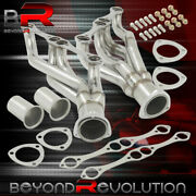 For Chevrolet Small Block Sbc 265 267 301 305 307 350 400 V8 Exhaust Headers S/s