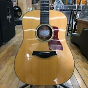 Taylor 510e Lutz Spruce/mahogany Dreadnought Acoustic-electric 2016 W/hard Case