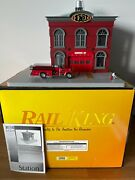 Mth Rail King Operating Firehouse 30-9157 O Scale