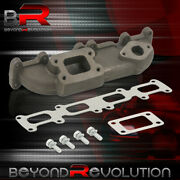 For 2003-2005 Dodge Neon Srt4 2.4l Performance Iron T3/t4 Turbo Manifold Exhaust