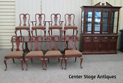 58740 Quality Elysee Matignon 10 Pc Dining Set China Table 107l + 8 Chairs