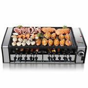 Commercial Electric Grill Large Grilling Machine No-smoke Barbecue Pits Bbq
