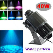 40w Outdoor Dynamic Led Rotating Gobo Projector Water Pattern Stage Light Party
