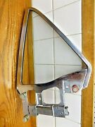 Apr 64-66 Ford Mustang Driver Rear Quarter Window Oem Part