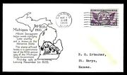 775 3c Stamp 1935 Michigan Centenary Fdc By 1st Mckinley Planty 775 - 76